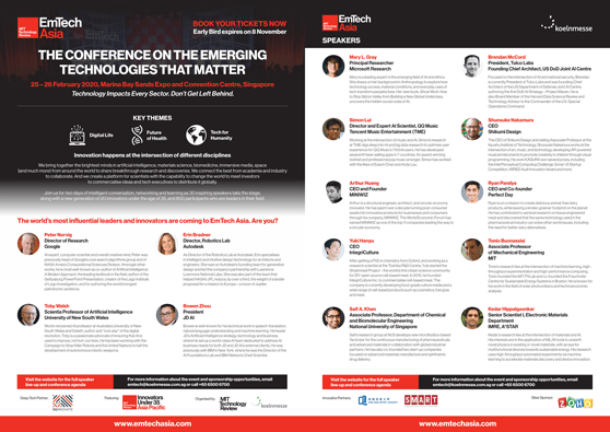 EmTech Asia 2020 Conference Brochure