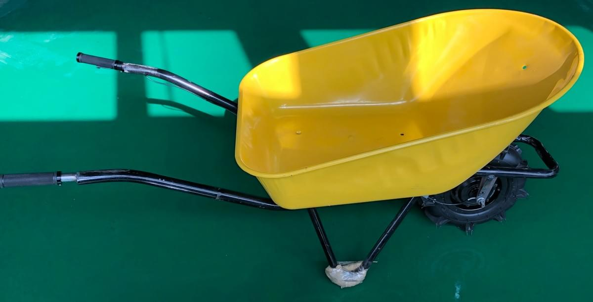 electric wheelbarrow, lithium battery, 500w powerful motor