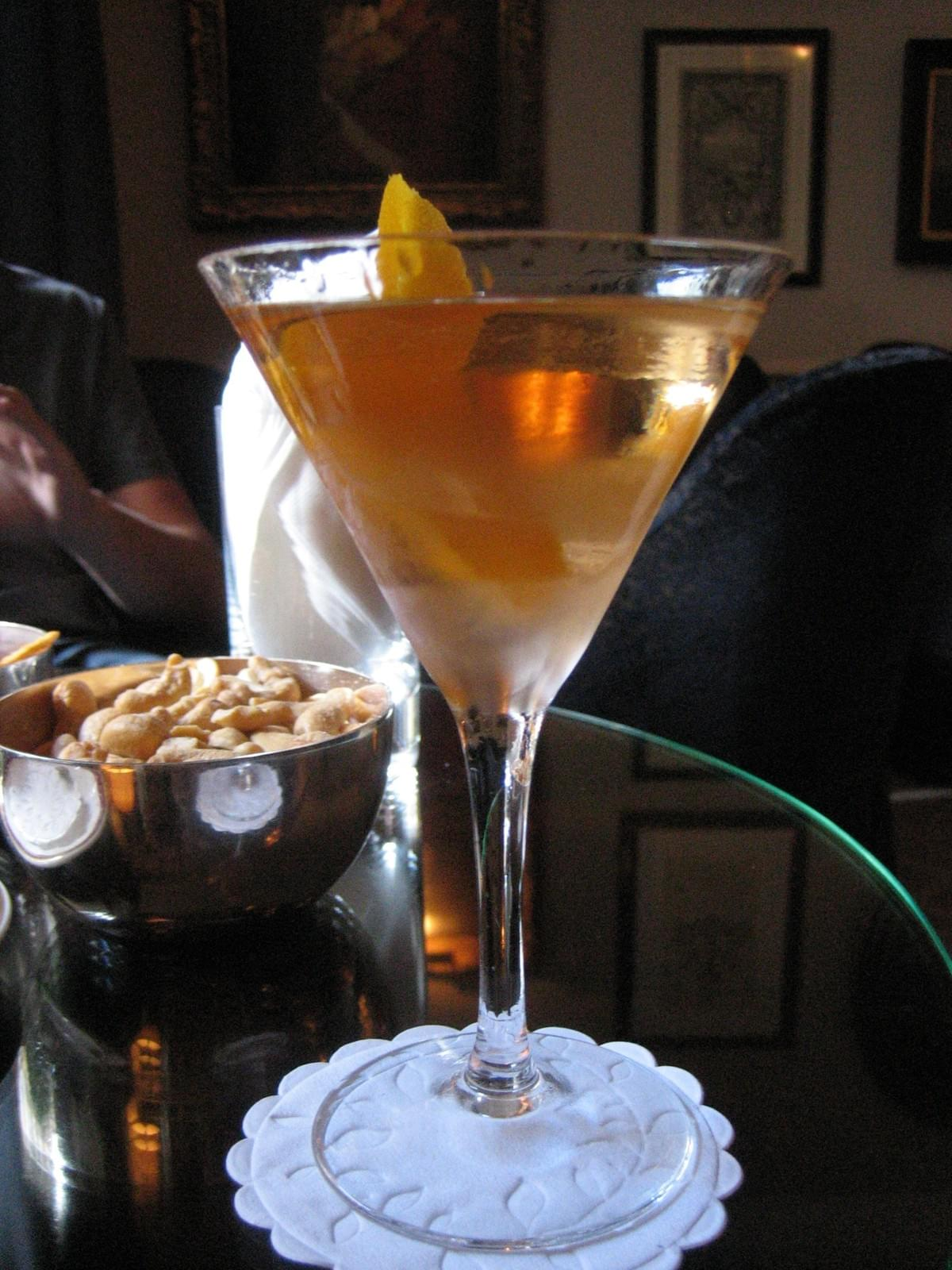 Dukes Bar Vesper Martini
