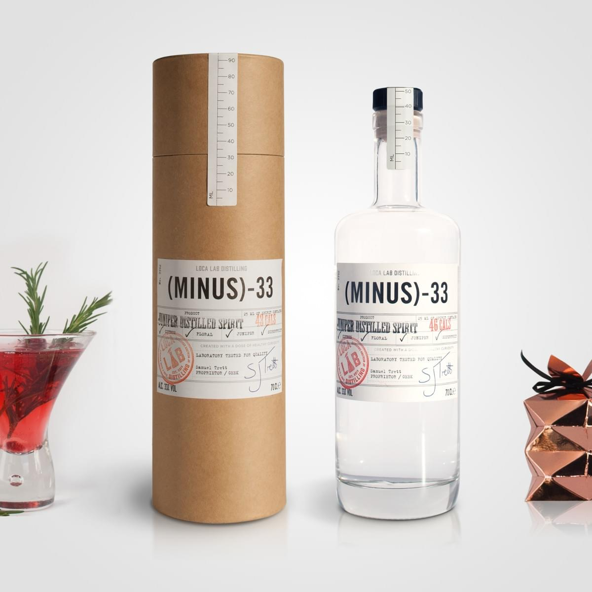 Minus 33 Packaging Design