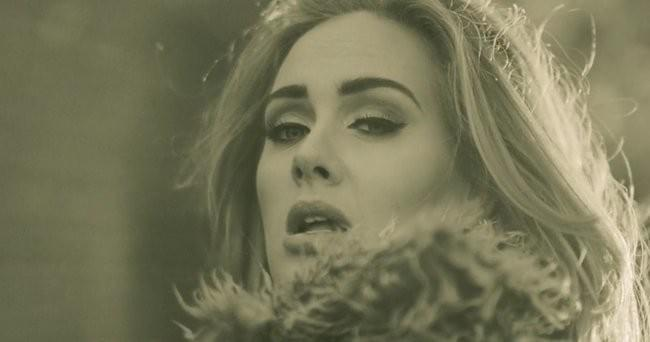 adele, hello, sheet music, news, entertainment, video, billboard, mtv, vh1