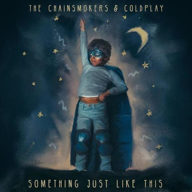 music news, the chainsmokers, coldplay, something just like this, ellie goulding