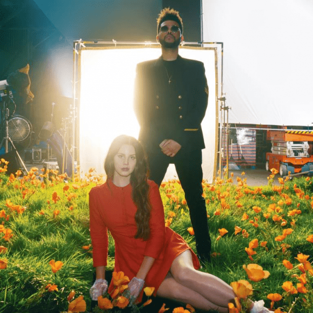 lana del rey, lust for life, the weeknd, music news, chords, notes, sheets, billboard hot 100, mtv, vh1, entertainment, celebrity