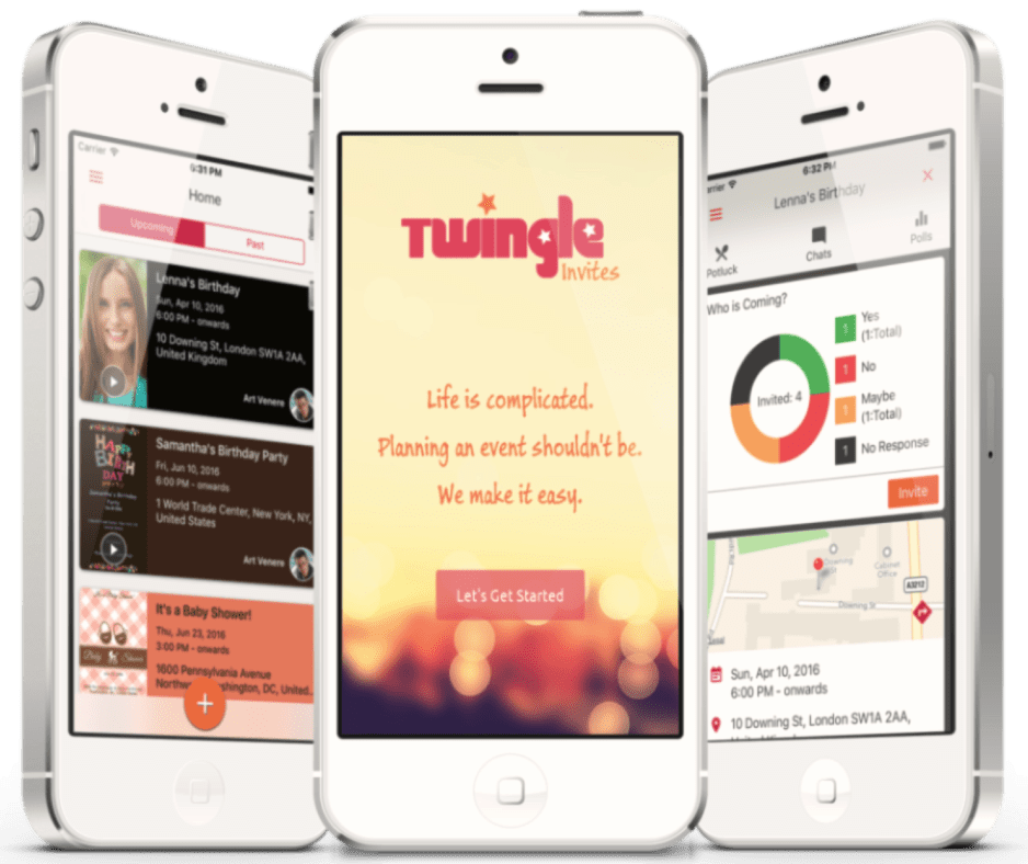 Twingle App Screenshots