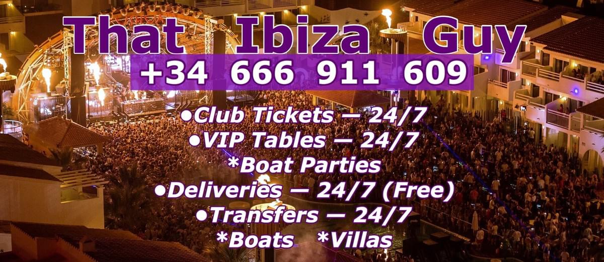 Club Tickets/VIP Tables +34 666 911 609
