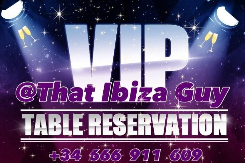 Tickets/VIP Tables +34 666 911 609