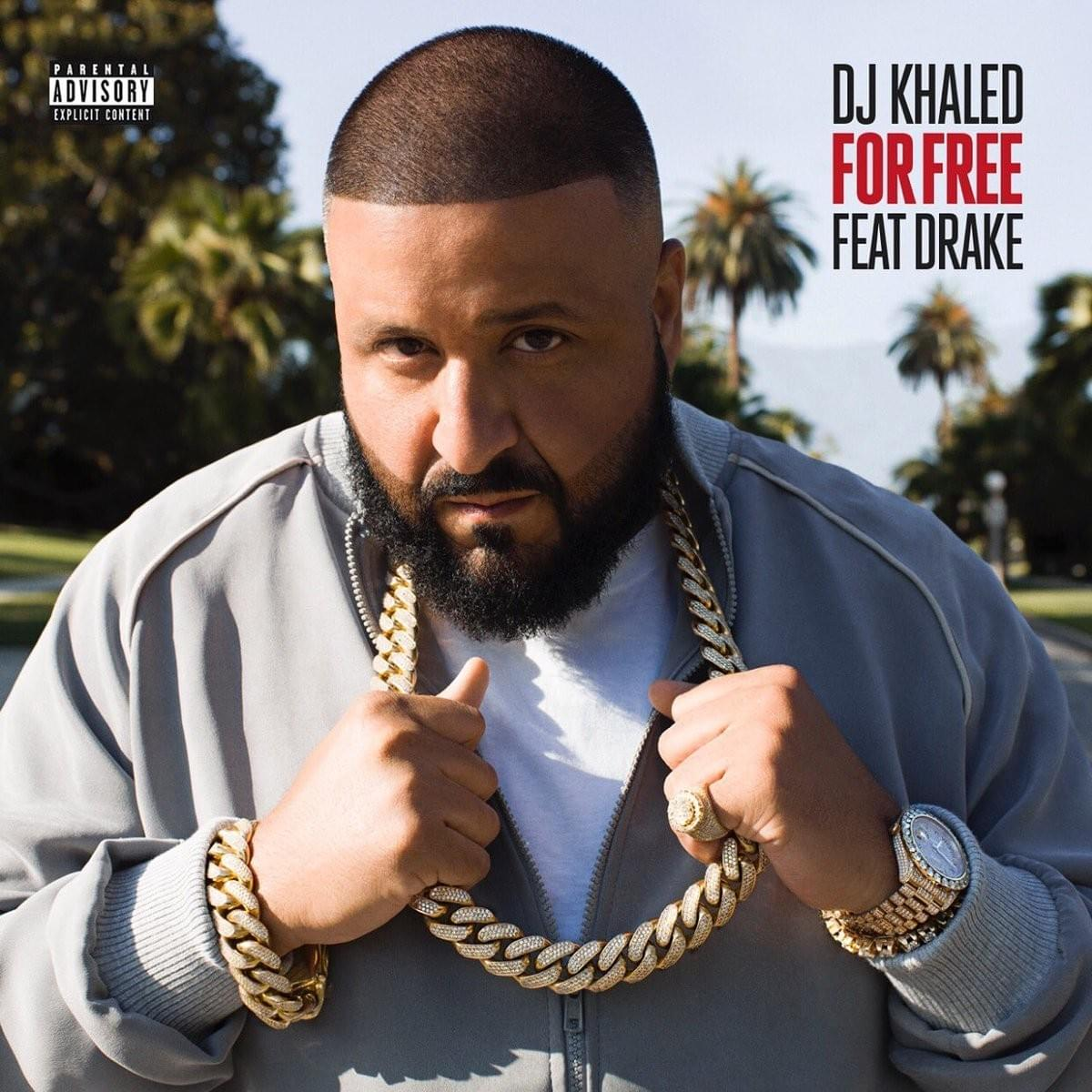DJ KHALED For Free single cover