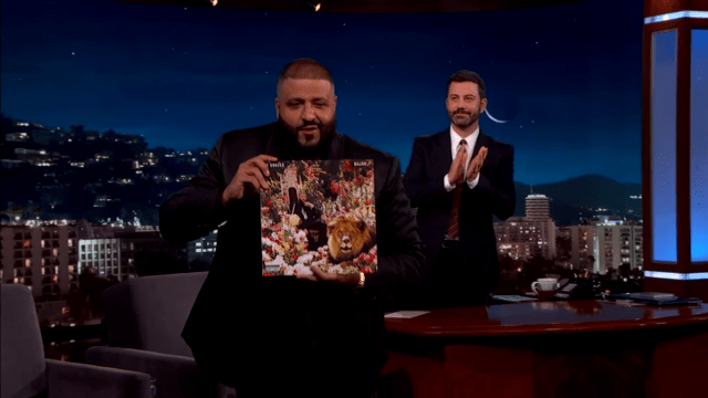 DJ KHALED ON JIMMY KIMMEL SHOW 2016
