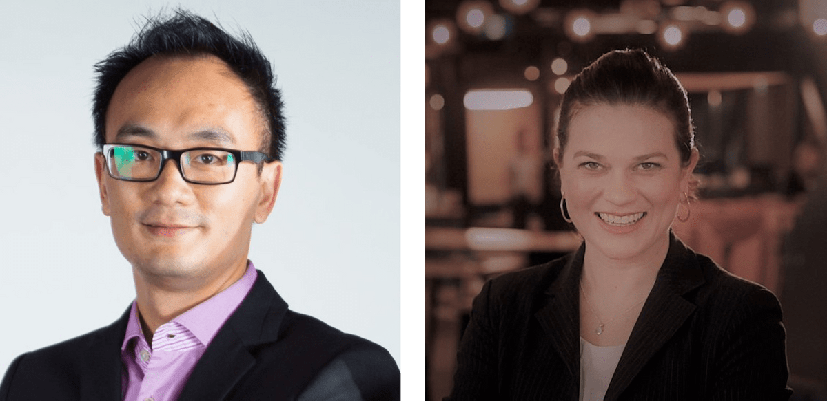 Kenniess Wong, Co-founder and Executive Director at Adzymic and Lisa Ison, Managing Director at Digital Commons