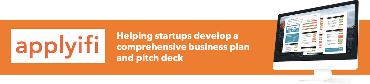 Applyifi - Helps startups develop a strong investor pitch deck