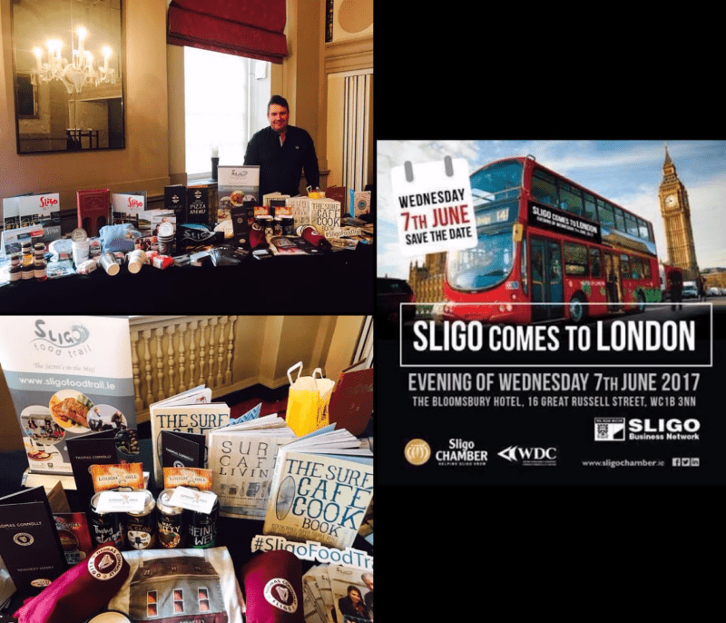Sligo Food Trail in London. #SligoFoodTrail
