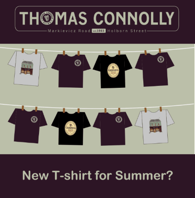 Thomas Connolly Summer T-Shirts