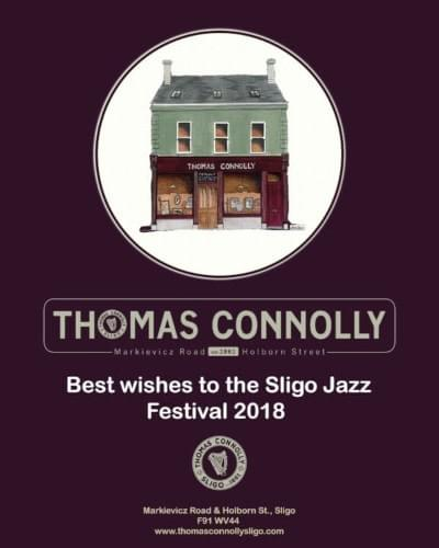 Best wishes to Sligo Jazz Festival