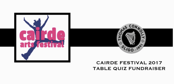 Cairde Festival 2017 Table Quiz Fundraiser