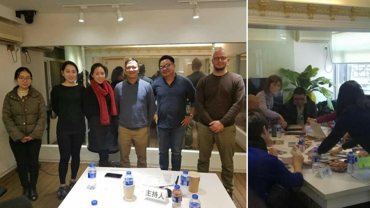 East West Chinese Research Group At Work in Beijing and Shanghai
