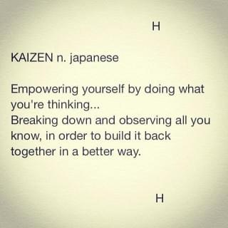 Kaizen to build sustainable Peace