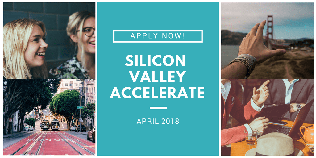 Silicon Valley Accelerate April 2018 by WATF - Apply Now