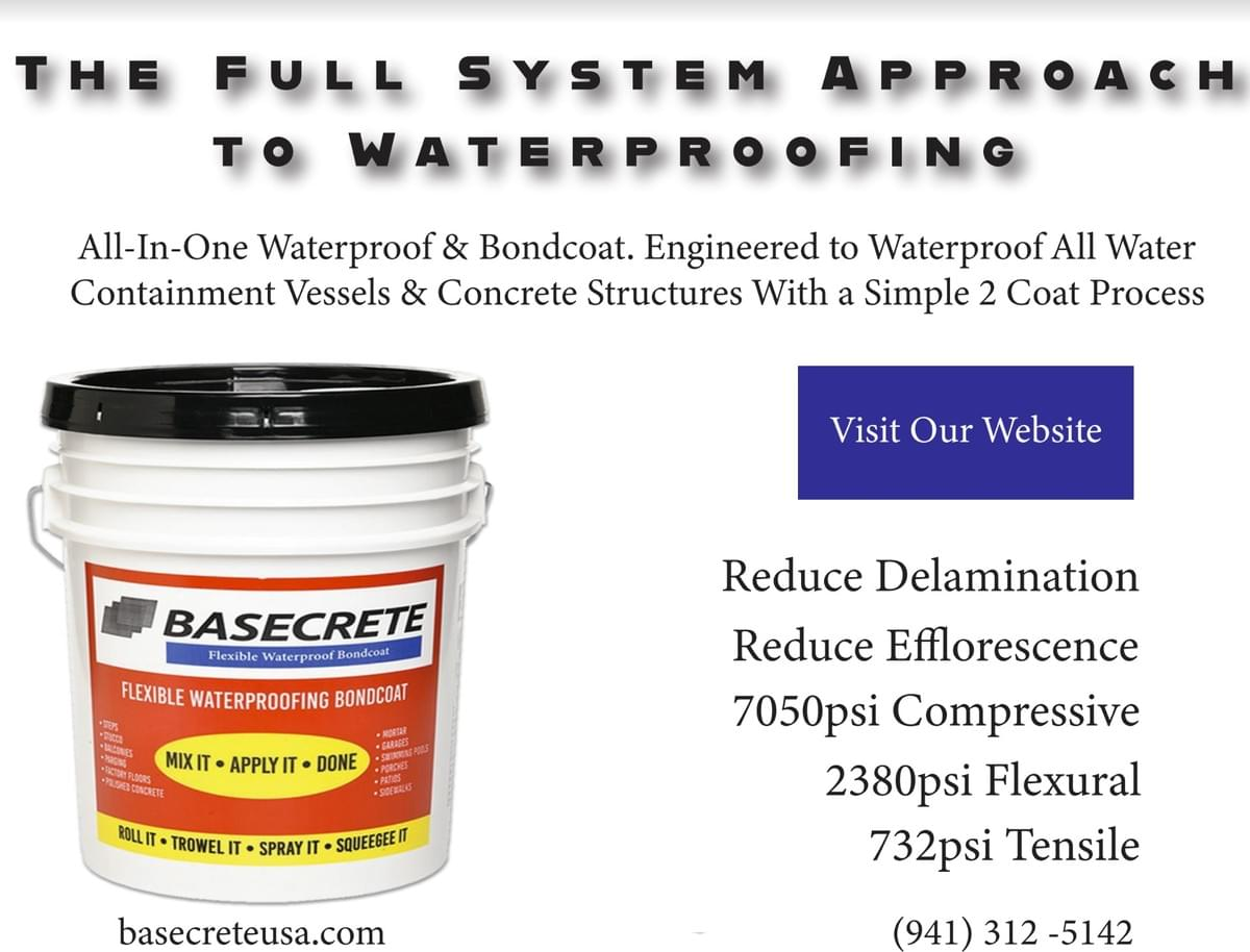 The full system approach to waterproofing