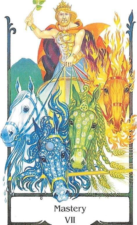 The Tarot of Eli: The Tarot of The Old Path-Key 7-Mastery