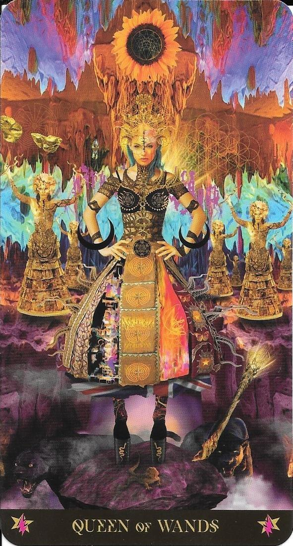 The Tarot of Eli-Court Cards- The Starman Tarot- Queen of