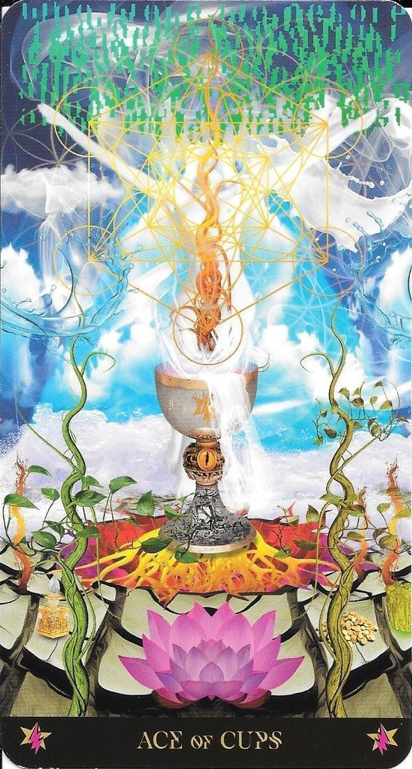 The Tarot of Eli: Minor Arcana- Starman Tarot- Ace of Cups