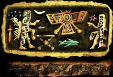 The Tarot of Eli: The Thoth Tarot-ATU 19-The Sun & The Night Sun