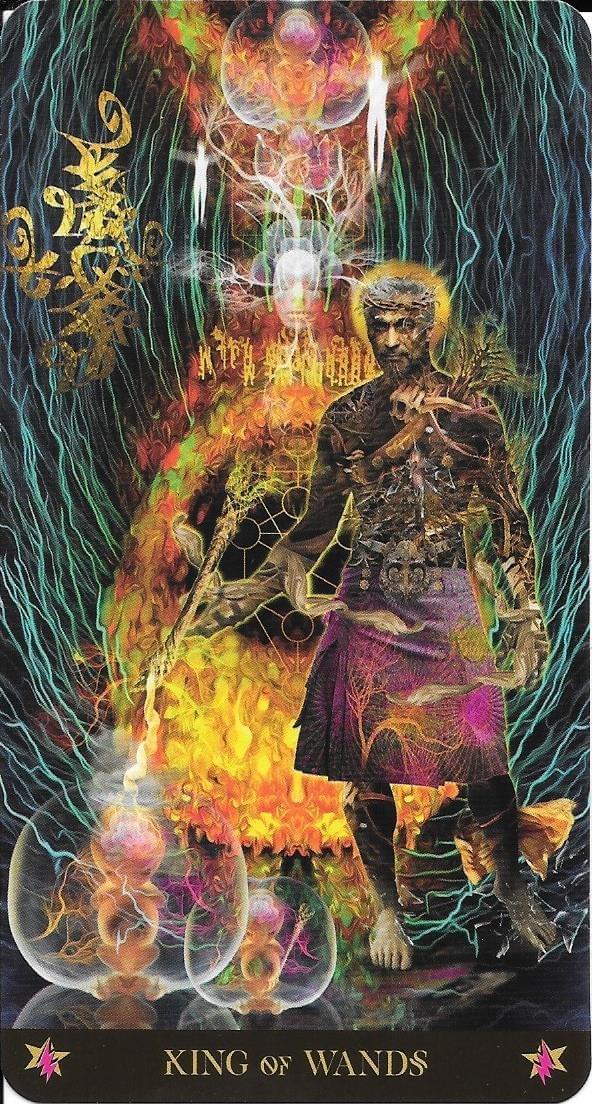 The Tarot of Eli: Court Cards- The Starman Tarot- King of