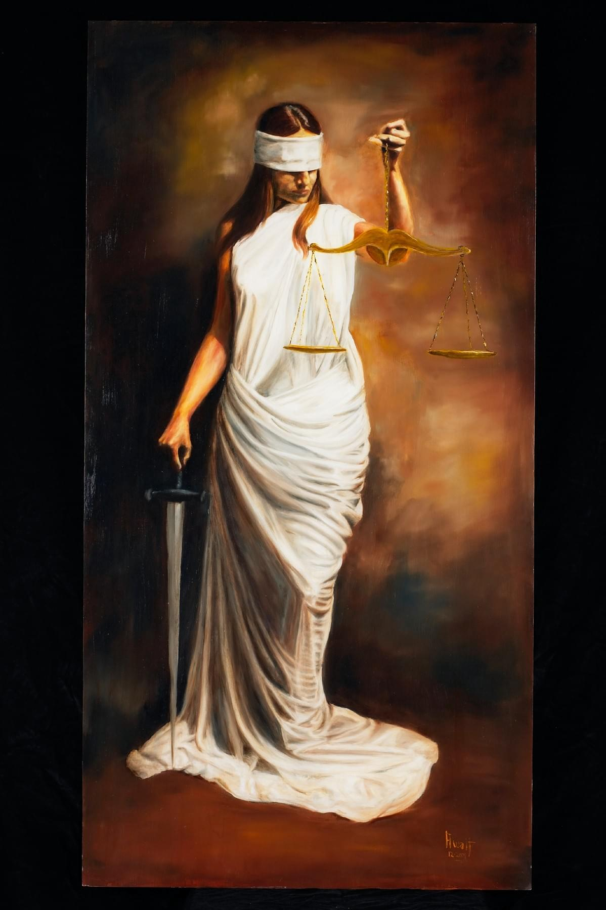 The Tarot of Eli: The Running Press Tarot-Key 8-Justice