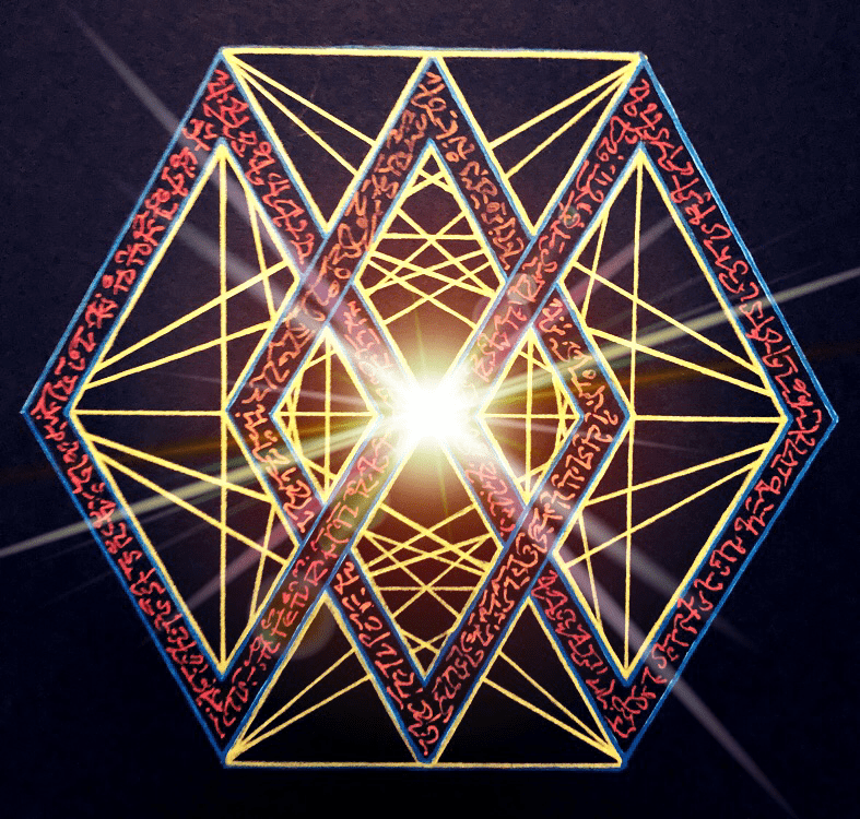 Sacred Geometry-art by Josse Fontain