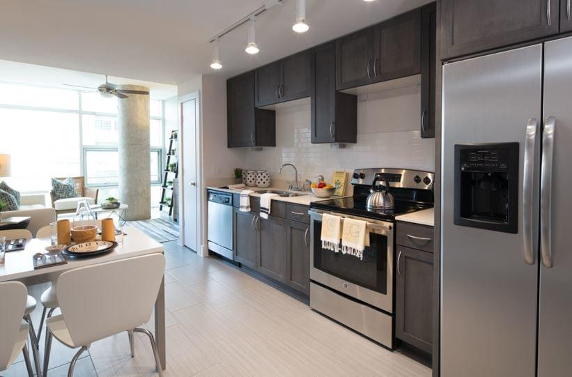 Class A example with stainless steel appliances