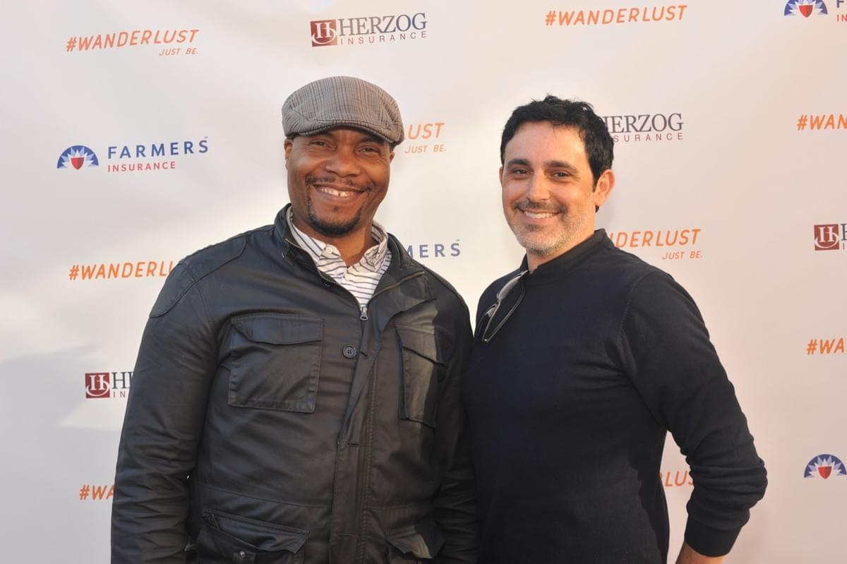 Filmmakers Jeffrey Moore and Mark Arellano