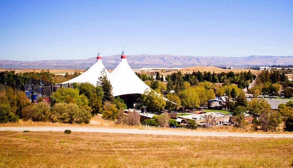 Shoreline Amphitheatre in the environmentally sensitive North Bayshore area of Mountain View