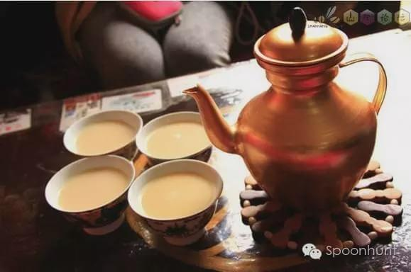 Tibet 西藏 China Signature dessert Butter Tea 酥油茶