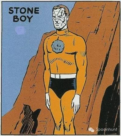 Drunk Personality Superhero: Stone Boy doesn't move