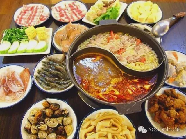 spicy chongqing sichuan hot pot szechuan hot pot 重庆麻辣火锅