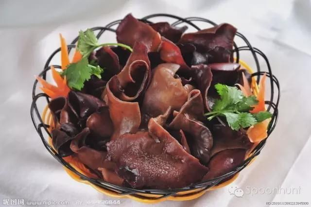 Best Chinese Hot Pot Mushroom Ingredients Black Wood Ear 黑木耳