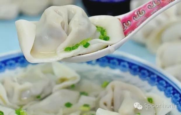 Wontons 馄饨 best dumplings in China Spoonhunt
