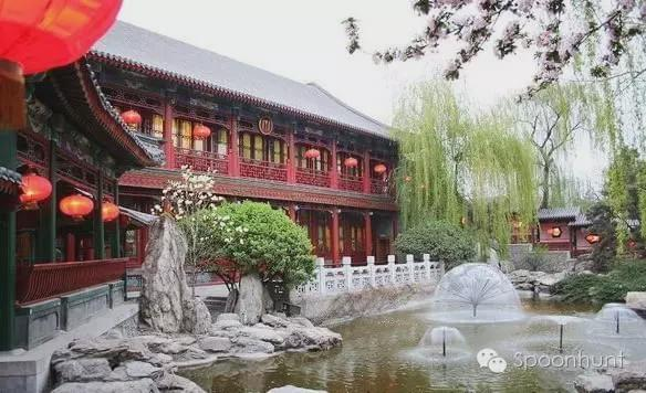 Laijinyuxuan Restaurant 来今雨轩饭庄 in Beijing, China is over 100 years old today