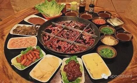 Chongqing 重庆 China signature dinner Chongqing Hot Pot 火锅 spicy