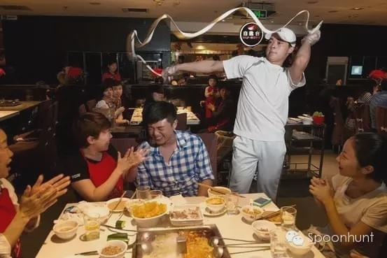 hai di lao hot pot 海底捞火锅 date restaurant chain in China