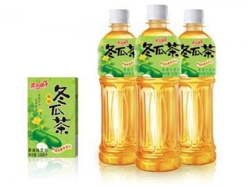 Bottled Winter melon tea 冬瓜茶