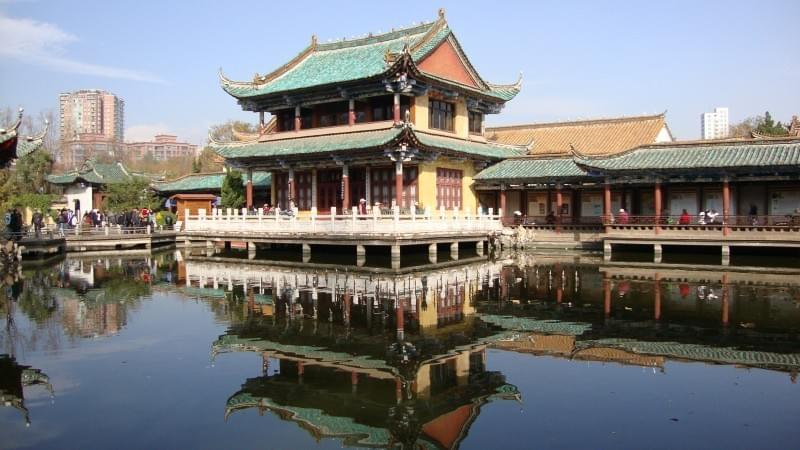 Green Lake 翠湖 in Kunming 昆明 Best Food and Restaurants in China on Spoonhunt Travel Food Guide