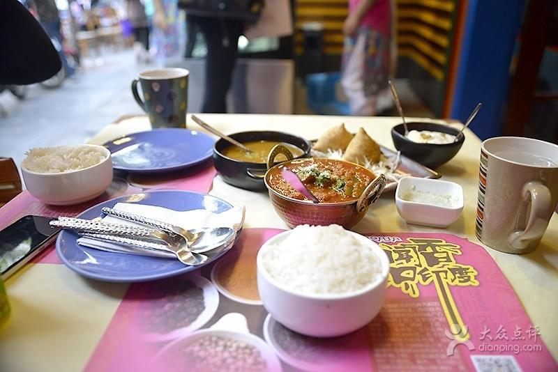 Cacaja Indian Restaurant near Green Lake 翠湖 in Kunming 昆明 Best Food and Restaurants in China on Spoonhunt Travel Food Guide