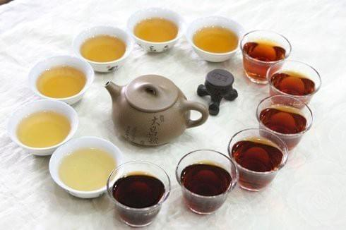 Types of Pu Er Tea 普洱茶