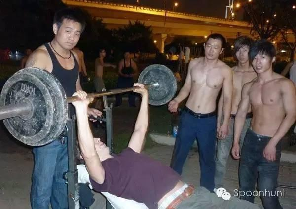 Working out without a gym in China life hack
