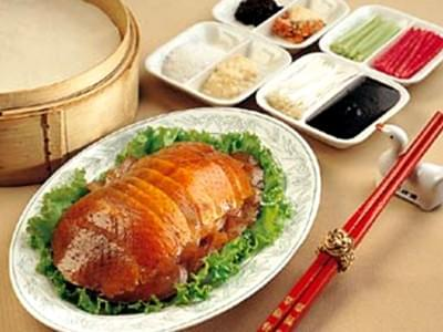 Best Duck Chain Restaurant in China Da Dong Roast Duck 大董烤鸭店 and Quan Ju De 全聚德