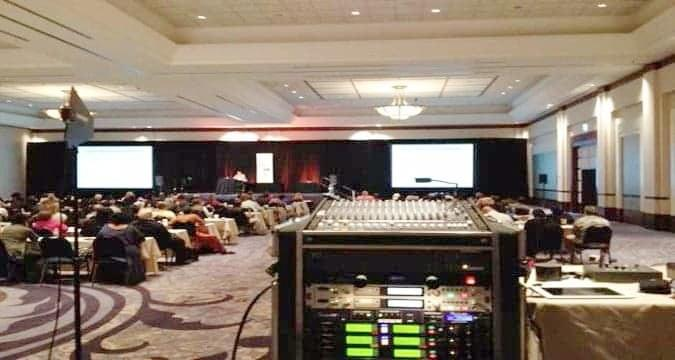 Conventions & Events Sound and Lighting Equipment Rentals