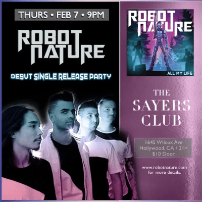 ROBOT NATURE Sayers Club