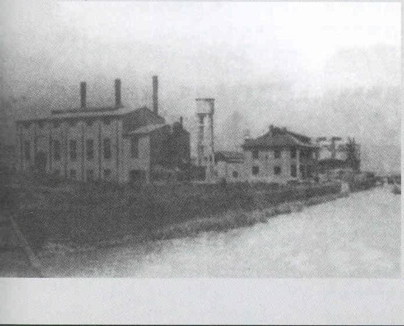 The Lius' Cement Works in Shanghai, c. 1930s.(Courtesy of Shanghai Tan)