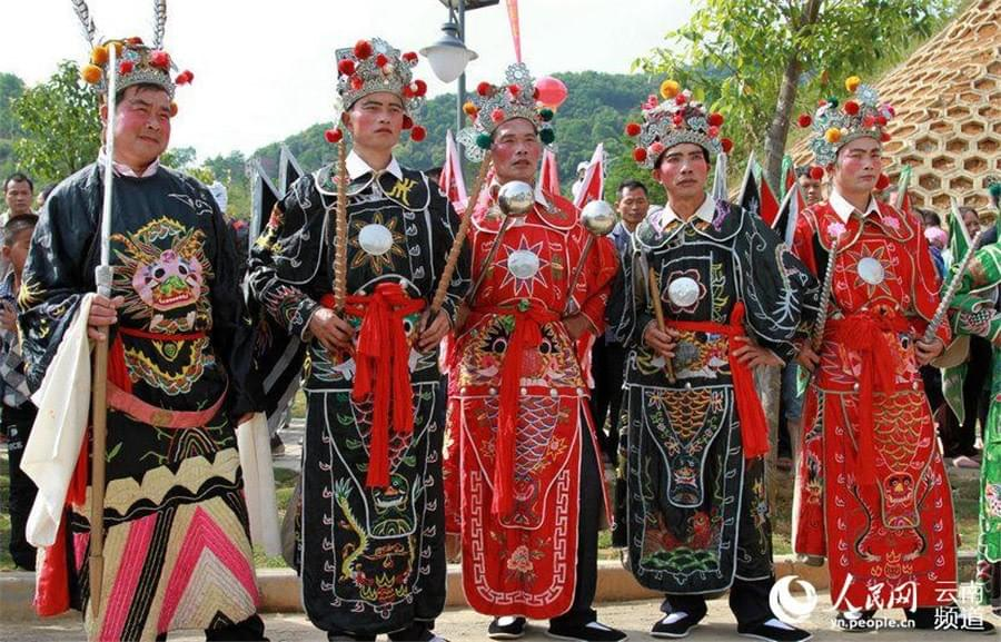 Picture source: China Daily; Zhuang People celebrating Longduan Festival